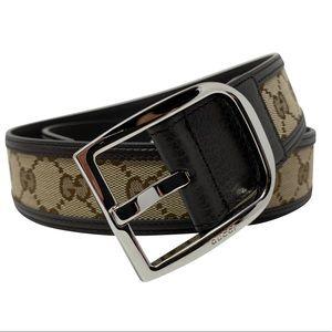 Gucci Mens Leather GG Guccissima Signature Belt